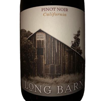 Pinot noir long barn