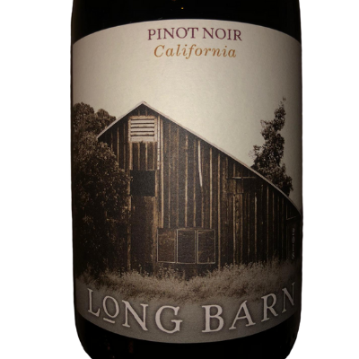 Pinot noir long barn